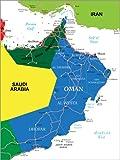 Poster 30 x 40 cm: Oman von Editors Choice - hochwertiger