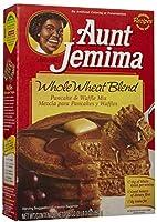おばさんジェミマ全粒小麦ブレンドパンケーキ & ワッフルミックス Aunt Jemima Whole Wheat Blend Pancake & Waffle Mix