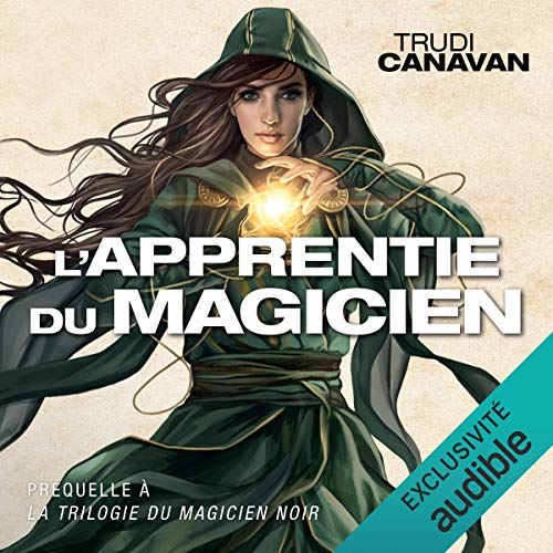 Couverture de L'apprentie du magicien