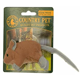 Country Pet Cat Toys – House Mouse – with catnip