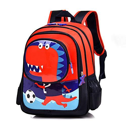 Uniyoung - Zaino per bambini con dinosauro per la scuola, per bambini e bambine, da 3 a 6 anni