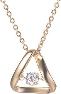 TTLElife Stainless Steel Fashion Men Women Necklace Pendant Horn Yellow Pendant