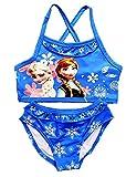 Disfraz de baño – apto para niña – Color azul – Dos piezas – Idea regalo de cumpleaños turquesa 5-6 años
