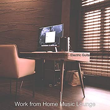 Backdrop for Working from Home - Electric Guitar