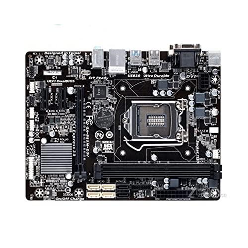 SIJI Placa Base de computadora Apta para Gigabyte GA-B85M-D2V Placa Base de Escritorio b85 Socket lga 1150 i3 i5 i7 ddr3 16g Micro-ATX uefi bios Original