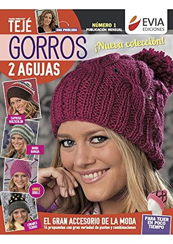 Gorros 2 agujas: Guía para el tejido del gran accesorio de la moda (TEJIDO - GORROS)