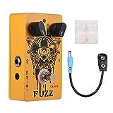 Caline Fuzz Bear Guitar Effects Pedal Multieffects Pedals Metal True Bypass Orange CP-46
