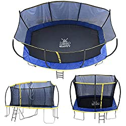 For over 10 years Zero Gravity has been synonymous with high specification, quality trampolines. During this time they have shied away from the cheaper end of the market as it was impossible to produce a safe high performance rectangular trampoline a...