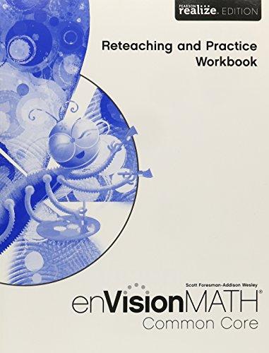 Math 2015 Common Core Practice Reteaching Workbook Grade 1