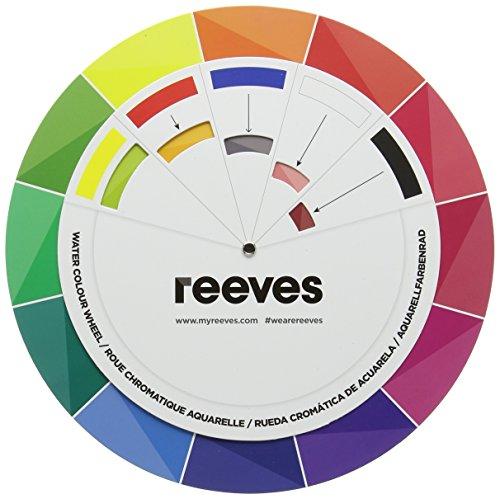Reeves 7650832 Aquarellfarben, Farbwählrad