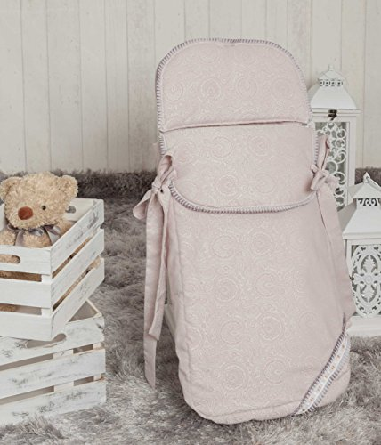 Babyline Bombón - Saco de 3 usos para capazo y silla, color beige