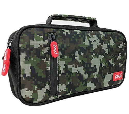 ipega-PG-9185 Jungle Treasure Box Camouflage Bag NS Multi-Function Shoulder Portable Storage Bag Carrying case for Nintendo Switch/Lite