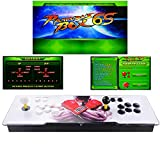TAPDRA Video Machine Classic, 2 Players Pandora's Box 6S Multiplayer Home Arcade Console 1388 All in 1 Games Non-Jamma PCB Double Stick HDMI Power Buttons