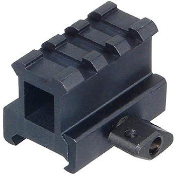"UTG Hi-Profile Compact Riser Mount, 1"" High, 3 Slots"