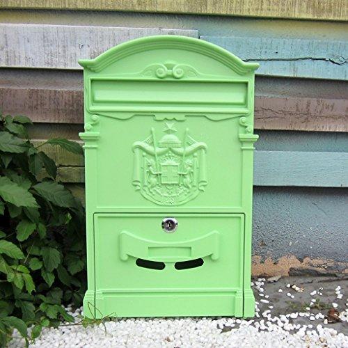 MXD Europese stijl eenvoudige mailbox buiten Waterdichte Villa Mailbox met slot Grote brievenbus Landelijke creatieve brievenbus B