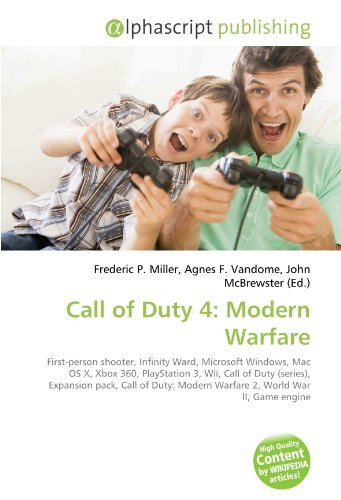 Call of Duty 4: Modern Warfare: First-person shooter, Infinity Ward, Microsoft Windows, Mac OS X, Xbox 360, PlayStation 3, Wii, Call of Duty (series), ... Modern Warfare 2, World War II, Game engine