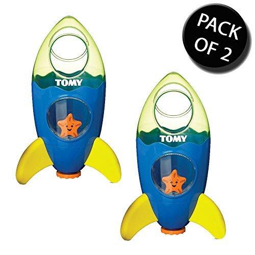 2x Tomy 72357 Bath Toys Fountain Rocket - New by Tomy