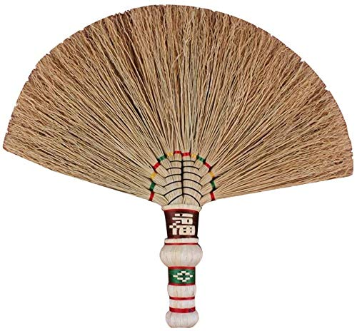 Great Price! Zichen Straw Broom Sweeping Dust No Static Wear Resistant Soft Hand Made Natural Materi...