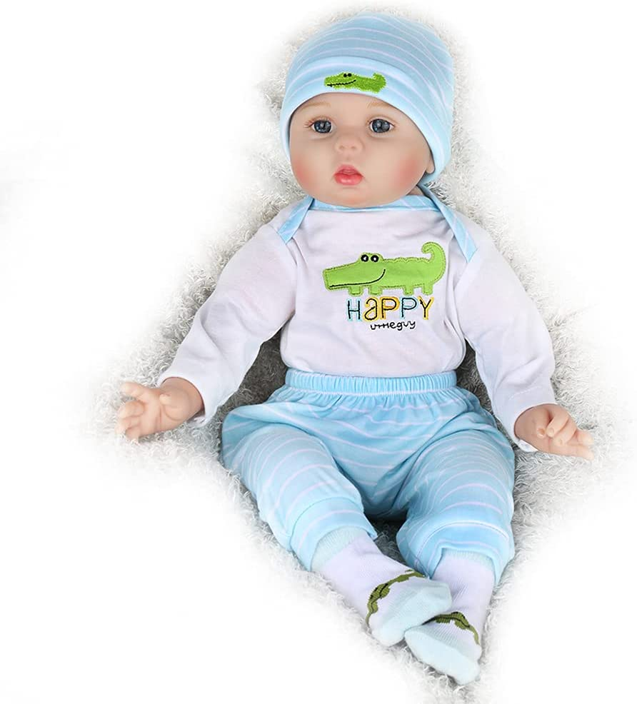 Kaydora Reborn Baby 5 popular Doll Boy 22 inch Weighted L Body Cute Opening large release sale Soft