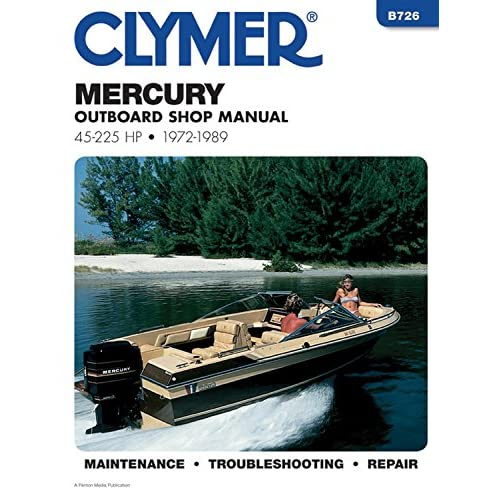 Mercury Outboard Manual: Amazon com