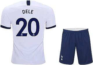 ZXAOYUAN 2019-2020 Tottenham Hotspur DELE Alli #20 Men's Home Soccer Jersey & Short Kit White