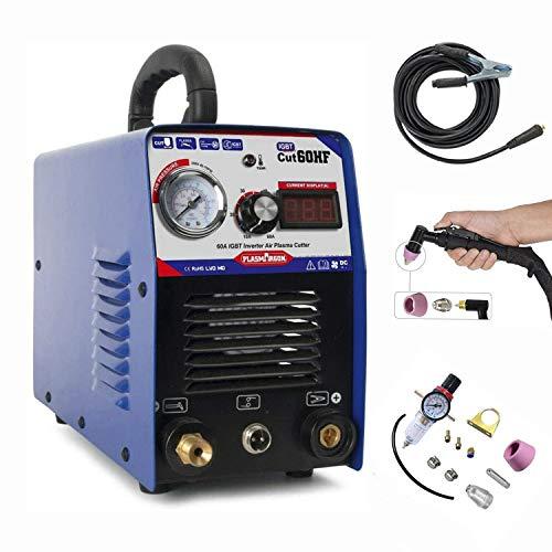SUSEMSE CUT 60 IGBT - Taglierina al plasma con 60 Ampere ad alta frequenza 220 V, capacità di taglio fino a 18 mm