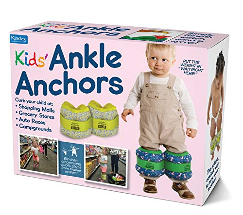 "Prank Pack ""Ankle Anchors' (Formerly Toddler Tamers) Wrap Your Real Gift in a Prank Funny Gag Joke Gift Box - by Prank-O - The Original Prank Gift Box 
