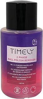 Timely, solvente per unghie bifasico con formula rinforzante, 150 ml