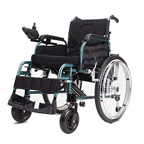 Best Deals! Electric Wheelchair Walker Transport Wheelchairs Walker Intelligent Control Lightweight ...