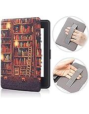 BENGKUI Etui na nadgarstek do Kindle Paperwhite 1 2 3 Smart Cover do czytnika e-booków Tablet Case do Paperwhite 1/2/3 DP75SDI