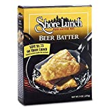 SHORE LUNCH, BREADING, BEER BATTER, Pack of 10, Size 9 OZ - No Artificial Ingredients