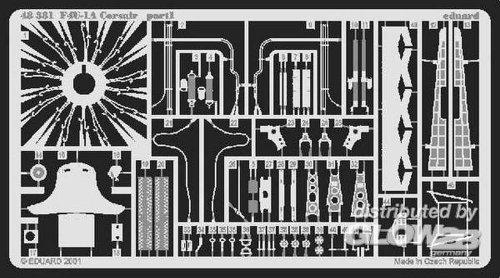 Eduard Accessories 48381 Accessoire de modélisme F4U-1 A Corsair