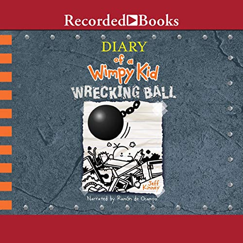 Diary of a Wimpy Kid: Wrecking Ball cover art