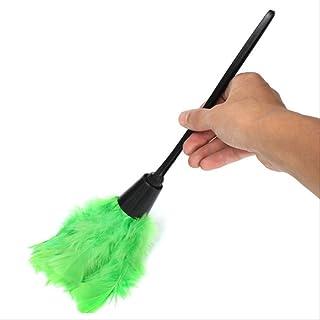 Polvo Txxzn Pluma Polvo Multicolor Hogar Dusting Brush Muebles Limpiador Herramienta De Limpieza Del Hogar Verde