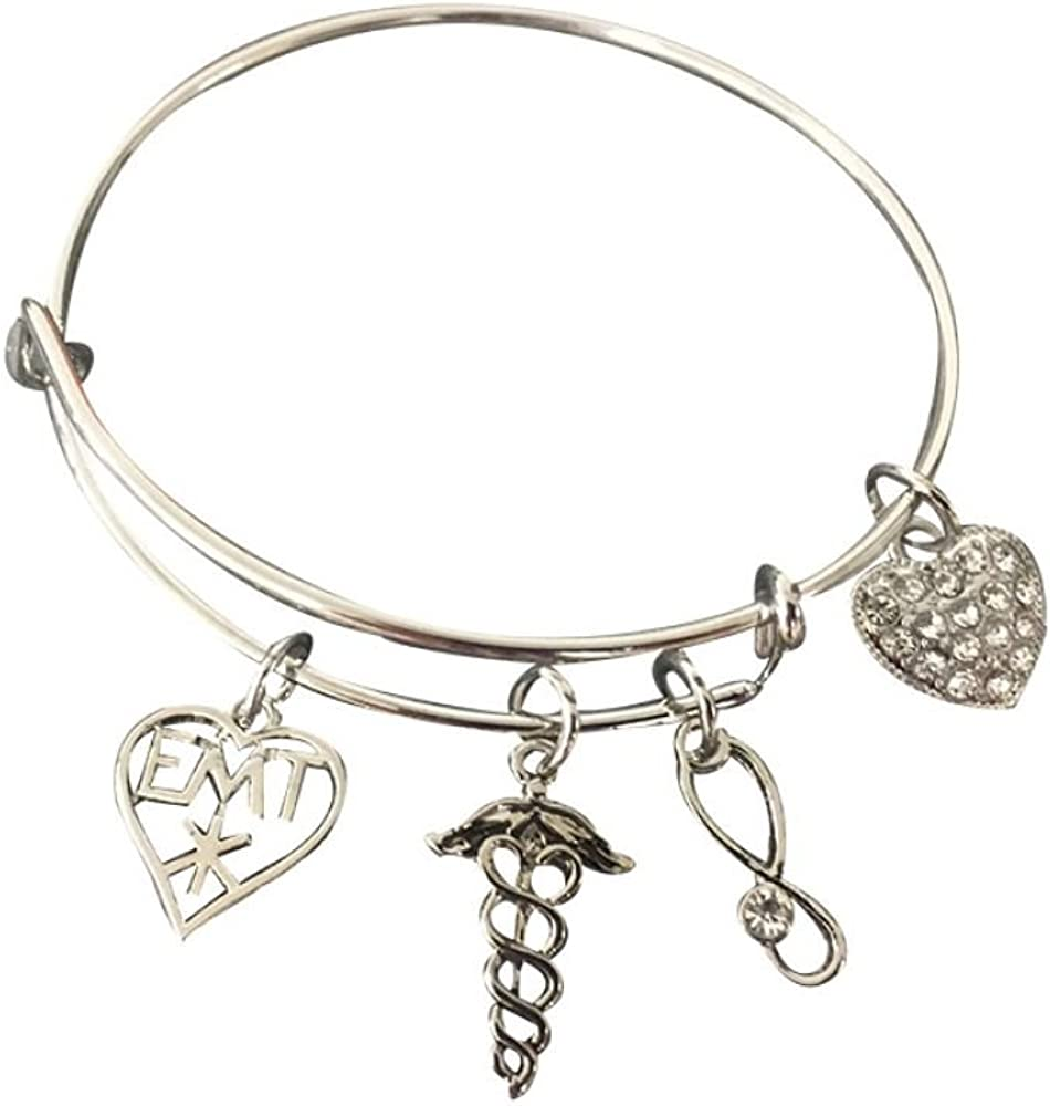 Infinity Collection EMT Charm Max 40% OFF Bangle Jewelry Bracelet Make 2021 model