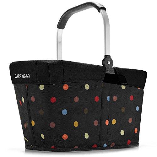 reisenthel - EXKLUSIVES ANGEBOT! carrybag + GRATIS passendes cover ! Einkaufskorb Einkaufstasche (dots)