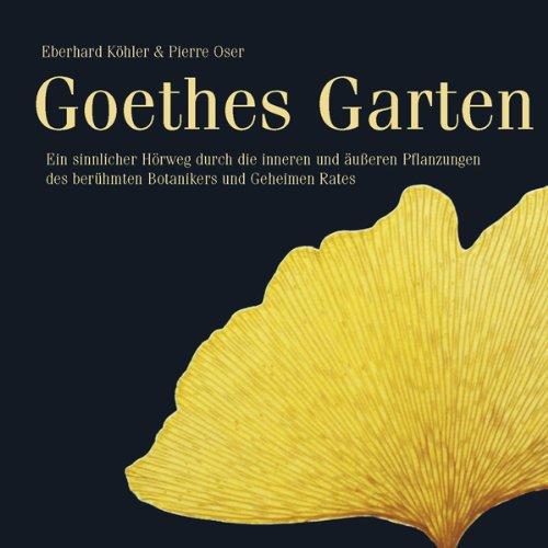 Goethes Garten audiobook cover art