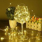 Luces LED de cuento de hadas a prueba de agua fiesta familiar luces LED luces decorativas de cadena A1 2m20 leds usb