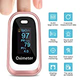Pulse Oximeter,Oxygen Saturation Monitor Spo2 Fingertip Pulse Oximeter Adult and Child with Omnidirectional