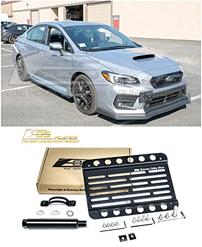 Replacement for 2018-2021 Subaru WRX & STi | EOS Plate Version 1 Front...