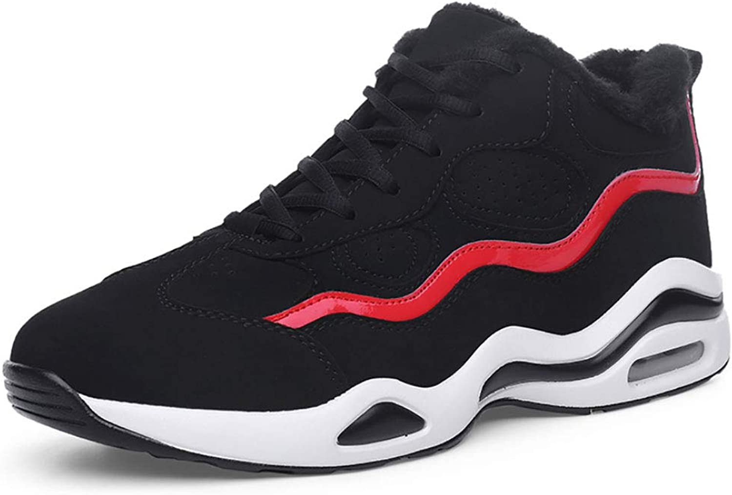 Sports shoes, Boys, Warm Students, Leisure, Air Cushions, Basketball shoes, Men's Cotton shoes and Black shoes.