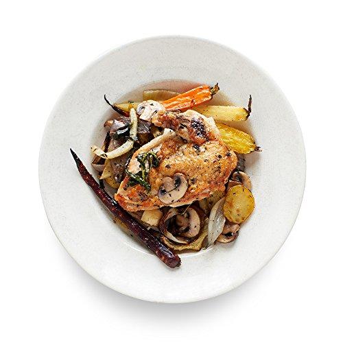Amazon Meal Kits, Roast Chicken with Tarragon-Mushroom Sauce, Serves 2