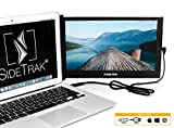 SideTrak Portable USB Monitor 12.5' Screen - Attaches to Your Laptop for Easy Travel - Efficient USB Power - Compatible with Mac, PC, Chromebook 13'-17' Laptops | HD IPS Display (Patent Pending)