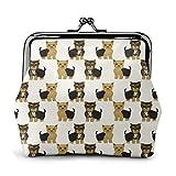 Yorkshire Terrier Cute Yorkie Dog Pet Women 'S Monedero Hebilla...