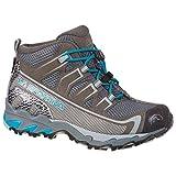 LA SPORTIVA Falkon GTX 36-40, Zapatillas de montaña, Carbon/Tropic Blue, 36 EU