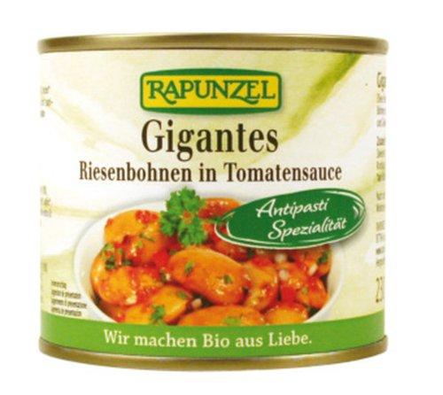 Rapunzel Gigantes Riesenbohnen in Tomatensauce in der Dose, 4er Pack (4 x 230g) - Bio