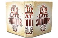 バインダー 2 Ring Binder Lever Arch Folder A4 printed Summer sun fun