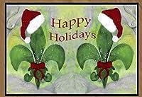 クリスマスエリア絨毯フロアマット 36 x 60