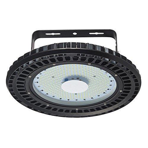 Viugreum® 200W LED UFO Spot, LED Projecteur Ajustable Industriel Lustre Haute Baie Lumière Intérieur Extérieur [Ultra Puissant 24000LM] IP65 Eclairage de Stade Place Garage Terrasse Blanc Froid