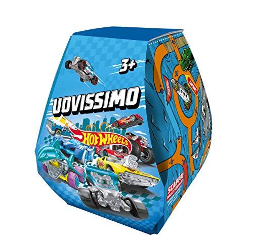 Hot Wheels Uovissimo, con Macchinina, Pista, Accessori e Tante altre Sorprese, Giocattolo per Bambini 4+Anni, GWF93